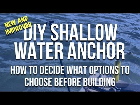 DIY Shallow Water Anchor: How To Make Shallow Water Anchor Pins
