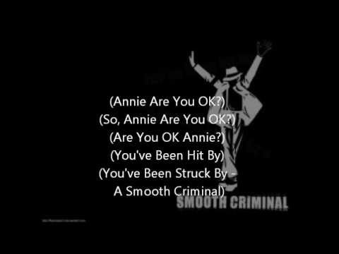 michael jackson smooth criminal lyrics
