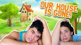 THEY STOLE OUR HOUSE!