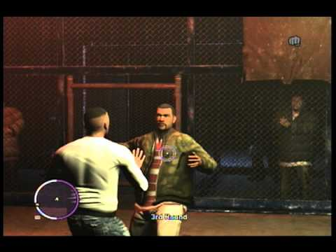 GTA IV Cage Fighting