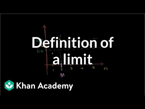 Definition of limit of a sequence and sequence convergence