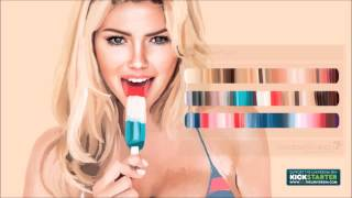 Kate Upton Bikini Speed Painting