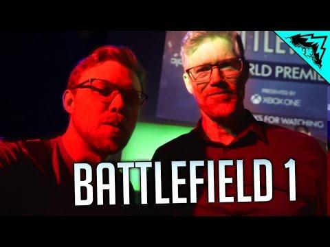Battlefield 1 Trailer Premiere VLOG from London - Tourist & Behind the Scenes