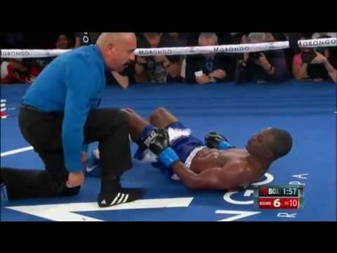 Ivan Redkach Knocks Down Yakubu Amidu Twice in Round 6 - SHOWTIME Boxing