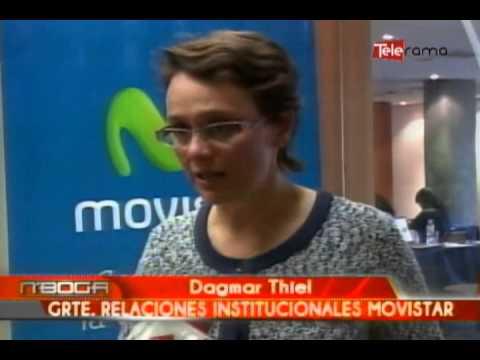 Telefónica Movistar dicta taller de periodismo digital