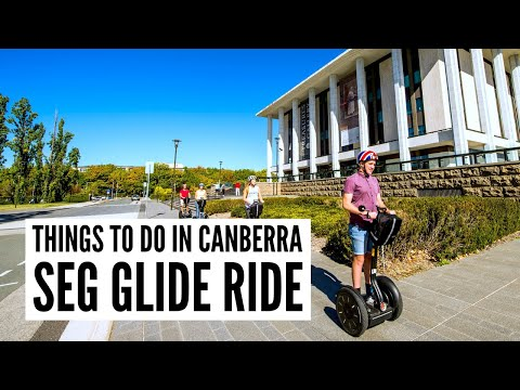 Visit Canberra and explore Lake Burley Griffin with Seg Glide Ride - The Big Bus