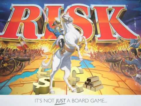 Risk - It's Not Just A Board Game