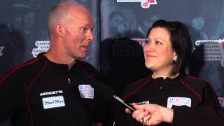 Draw 7 Media Scrum - 2013 WFG Continental Cup