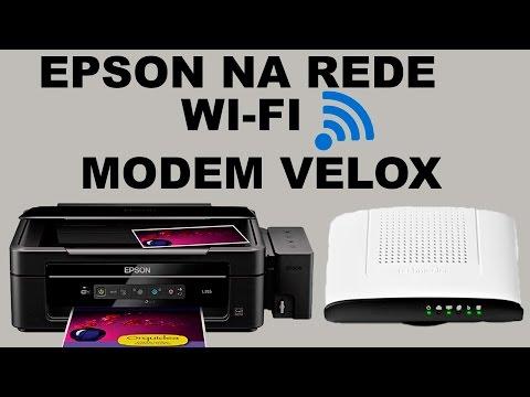 Epson l355 na rede wifi pelo botão wps do modem ou roteador