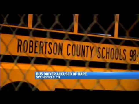 Robertson County Bus Driver Arrested For Rape video