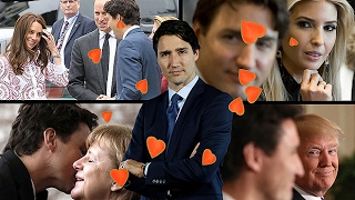 The Justin Trudeau effect famous faces who39ve fallen for the Canadian PM39s charm