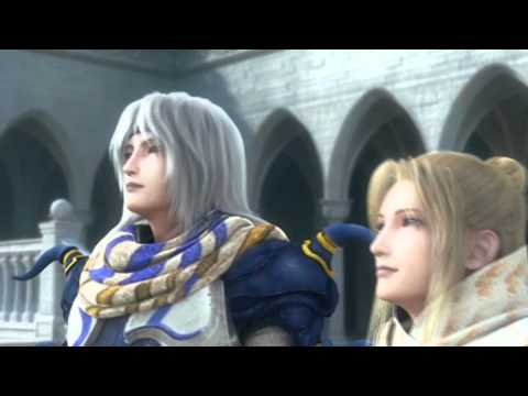 Final Fantasy IV: The After Years Opening Cutscene PSP