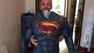 League Justice size 1:1 Muckle Mannequins superman CASTELLANO