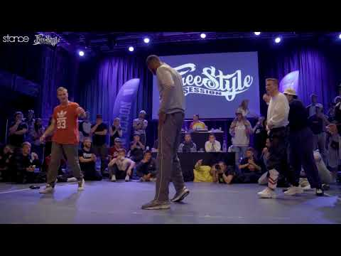 Fabian & Dangerous vs Exaggerate & Tunde (final) // .stance // Freestyle Session Norway 2018