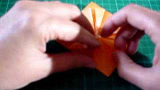 Origami Flower, Nice For Gift Wrapping Embellishment