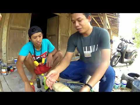 Belajar water transfer paper untuk pemula // step by step // PONDOH CUSTOM feat AINUL YAKIN