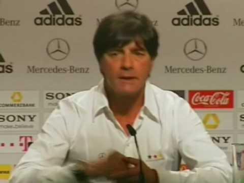 FIFA World Cup 2010 - Miroslav Klose and Joachim Loew on 4-0 vs Australia, not overexcited