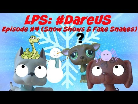 ❋Littlest Pet Shop: #DareUs (Episode #4: Snow Shows & Fake Snakes)