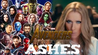 Avengers Infinity War Music Video: Ashes by Céline Dion
