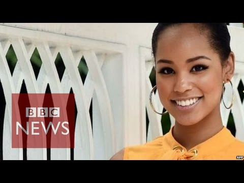 """""""People don't believe I am Japanese"""" says Miss Japan - BBC News"""