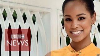 """People don't believe I am Japanese"" says Miss Japan - BBC News"
