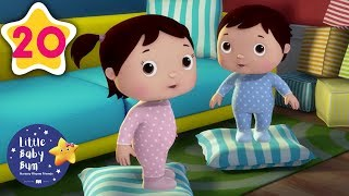 Lullabies for Kids | Learning Nursery Rhymes | Rock-A-Bye Baby | Little Baby Bum