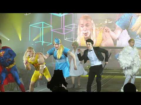 120406 Ss4 In Paris - Super Junior - Pajama Party video