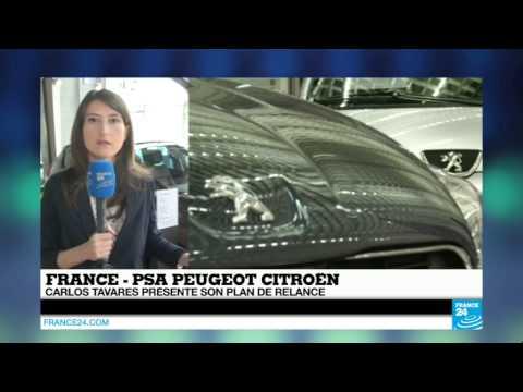 PSA Peugeot Citroen présente aujourd'hui sa nouvelle stratégie