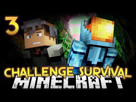 CHALLENGE SURVIVAL Part 3 - Minecraft Diversity 2 - Survival