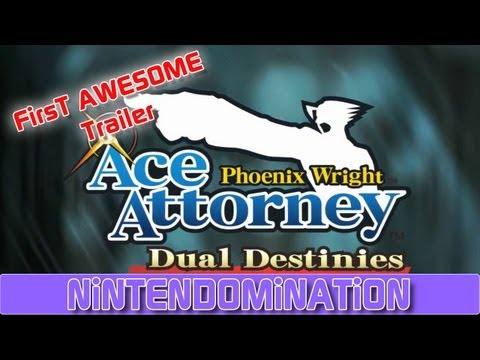 3DS - Phoenix Wright: Dual Destinies - Announcement Trailer