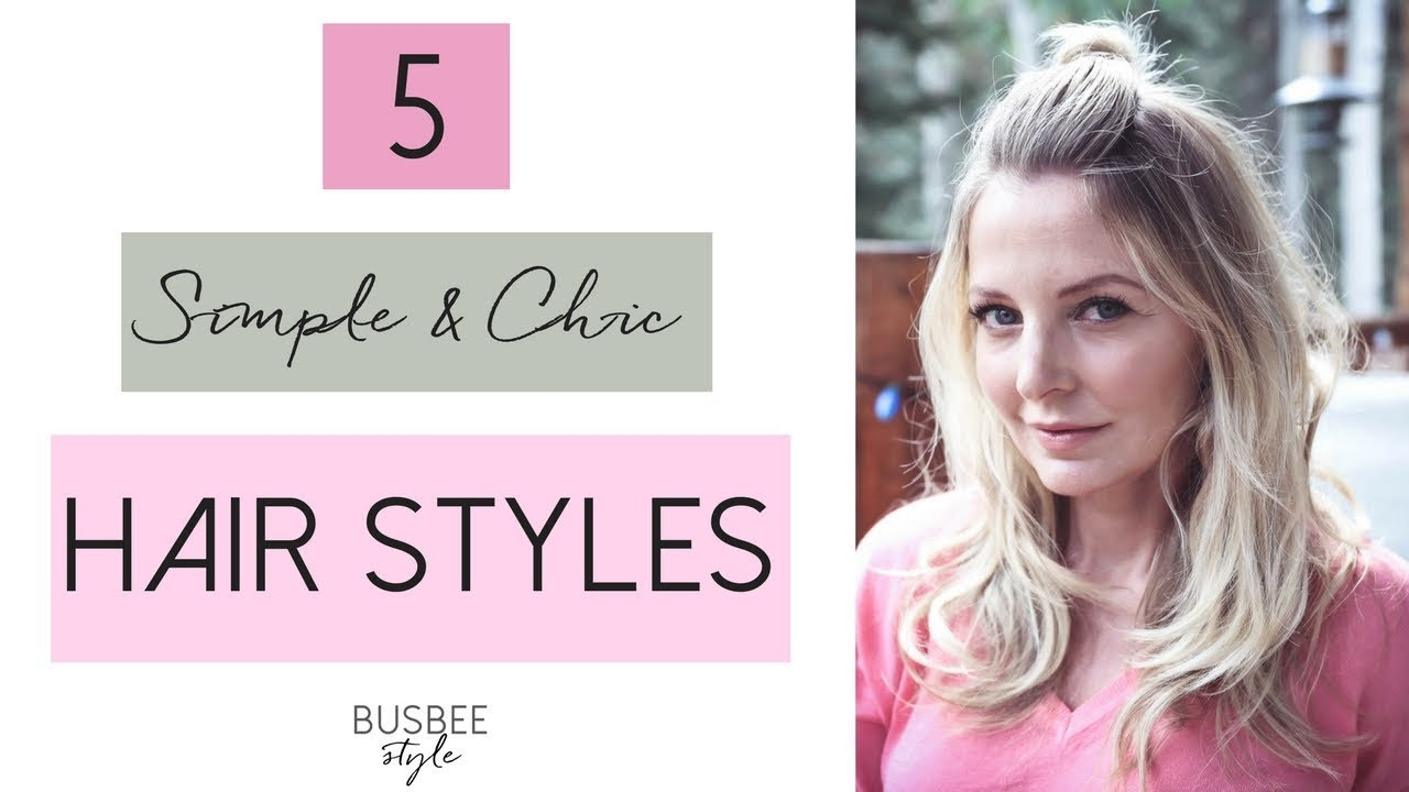 5 Simple & Chic Hair Styles | Beauty Over 40