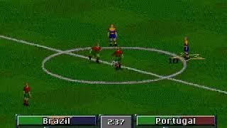 FIFA: Road to World Cup 98 (Mega Drive) Final Match + Ending