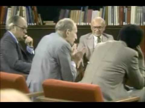 Milton Friedman - A Conversation On Minimum Wage
