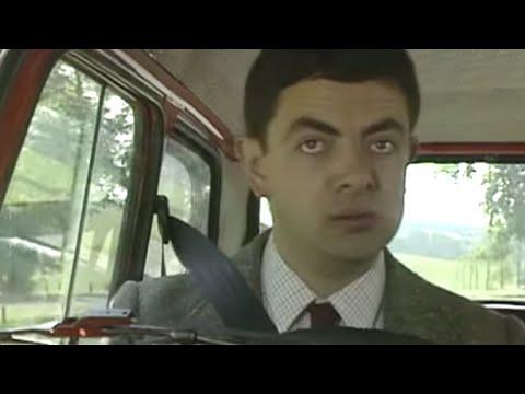 Mr. Bean - First Ever Reliant Robin Crash