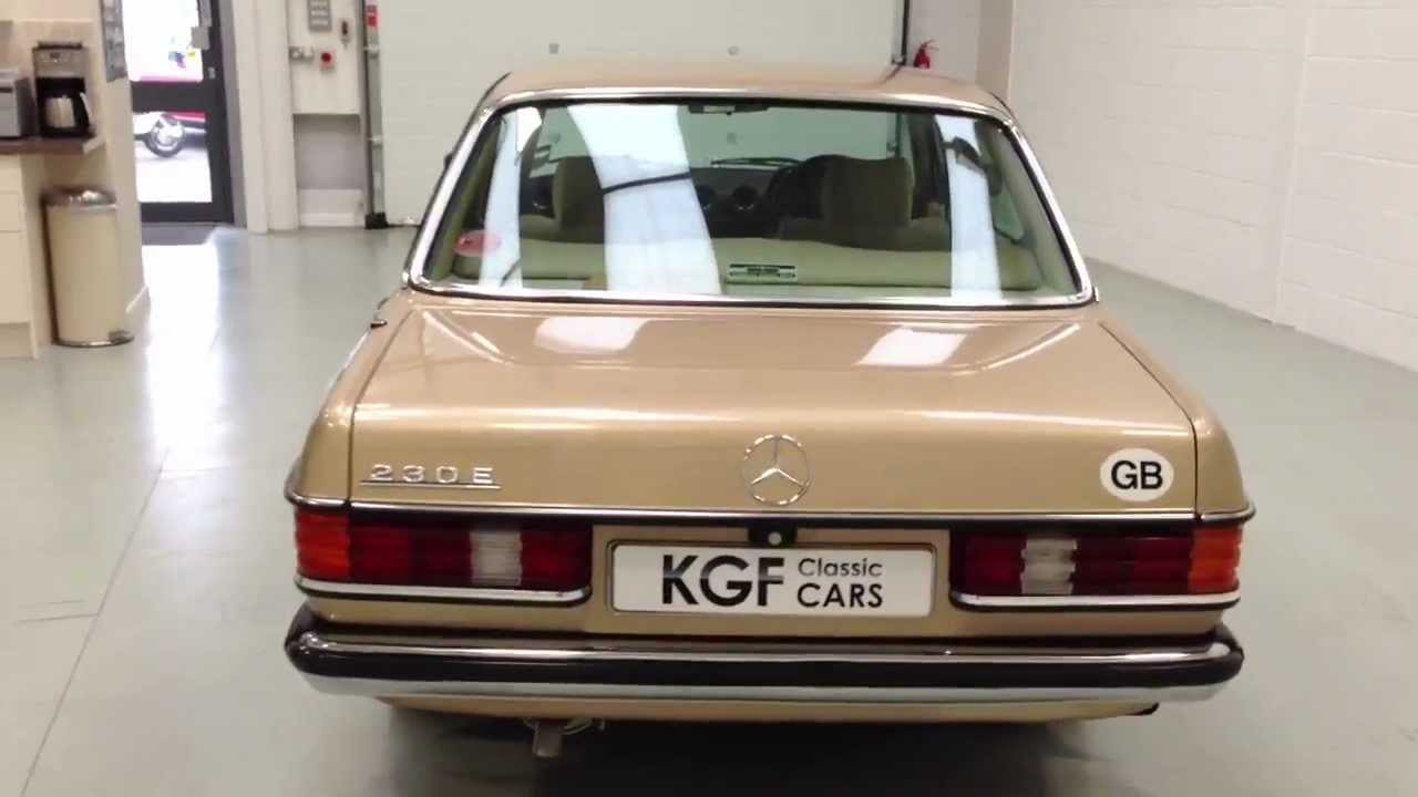 A Classic Mercedes Benz W123 230e With A Complete History
