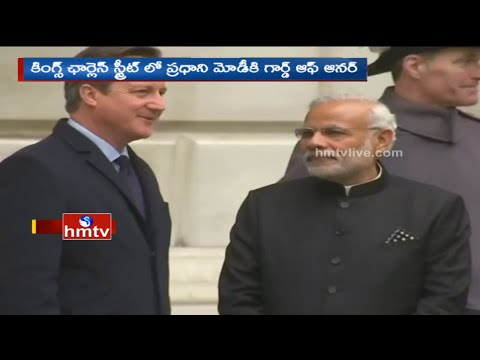 Guard of Honour To Indian PM in Kings Charles Street | Modi UK Tour Highlights | HMTV