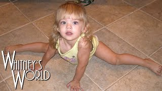 Incredible 2-Year-Old Gymnast | Whitney Bjerken