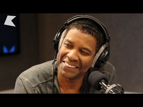 Denzel Washington talks 'The Equalizer' and Jay-Z at Kiss FM (UK)