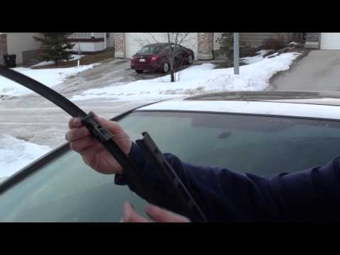 how to change wiper blades honda accord 2012