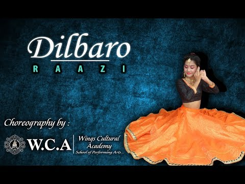 Dilbaro | Dance Choreography | RAAZI | Namita Choudhary (Cover) | WINGS CULTURAL ACADEMY thumbnail