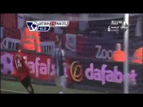 Gol Chicharito vs West Brom 2013