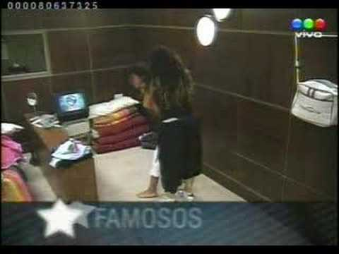 Violence In Big Brother Argentina Girl Vs Girl video