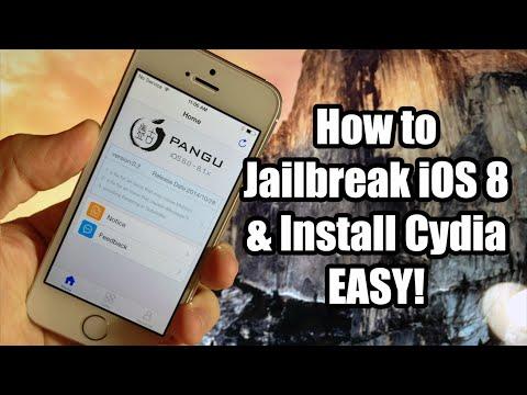 How To Jailbreak iOS 8 - 8.1 & Install Cydia with Pangu - EASY! (Windows)