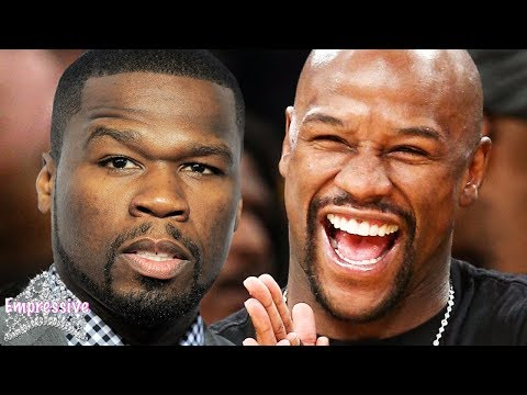 Floyd Mayweather exposes 50 Cent: You have Herp3s and you're broke!