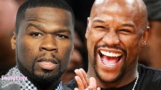 "Floyd Mayweather exposes 50 Cent: ""You have Herp3s and you're broke!"""