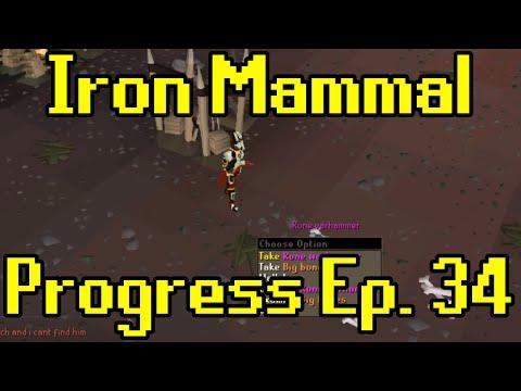 Oldschool Runescape - 2007 Iron Man Progress Ep. 34 | Iron Mammal