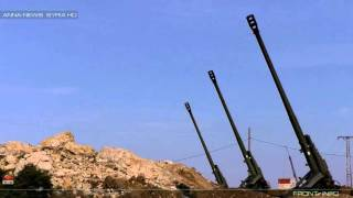 Msta-B howitzers in Northern Latakia