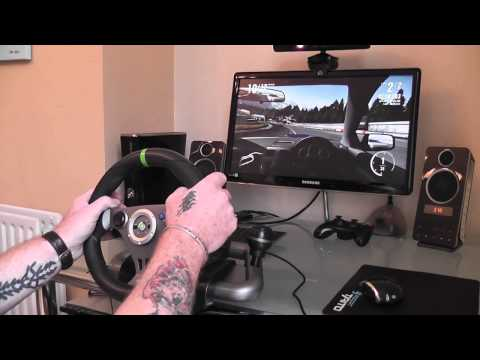 Mad Catz latest wireless Steering Wheel review for the Xbox 360