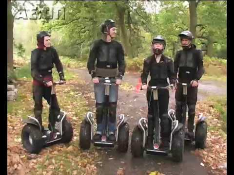 Segway Rally Off-Road Racing with the AE:On team