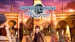 Sword Art Online: Hollow Realization - Announcement Trailer   PS4, Vita